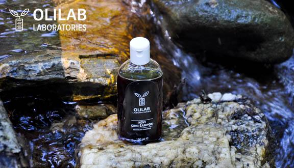 Primjena Novog crnog šampona - Olilab